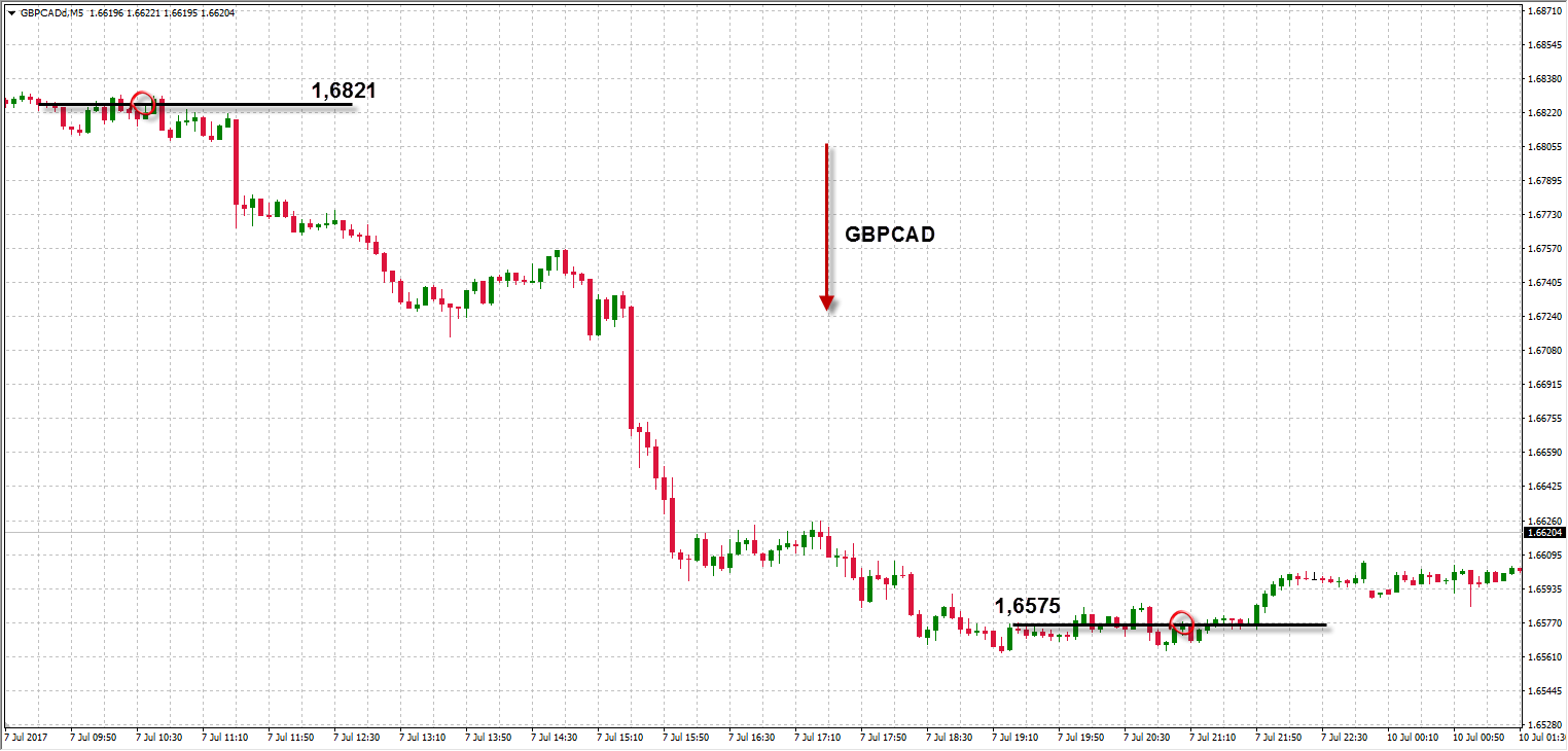 The leader of the week showed strong performance by trading GBPCAD.