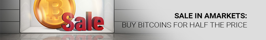 AMarkets - Buy Bitcoins For Half The Price