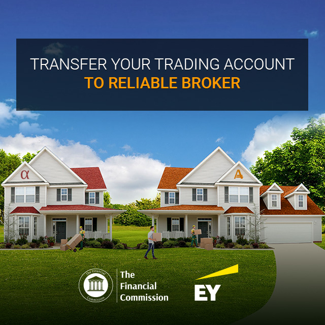 Transfer Trading Account and Open Orders to AMarkets Under Profitable Conditions